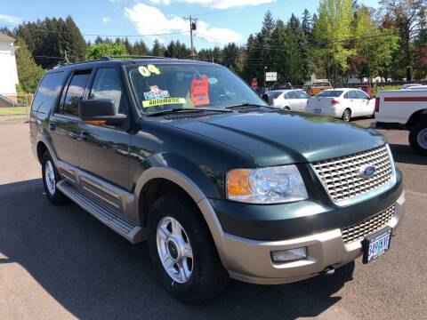 2004 Ford Expedition for sale at Freeborn Motors in Lafayette, OR