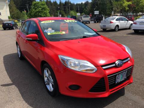 2014 Ford Focus for sale at Freeborn Motors in Lafayette, OR