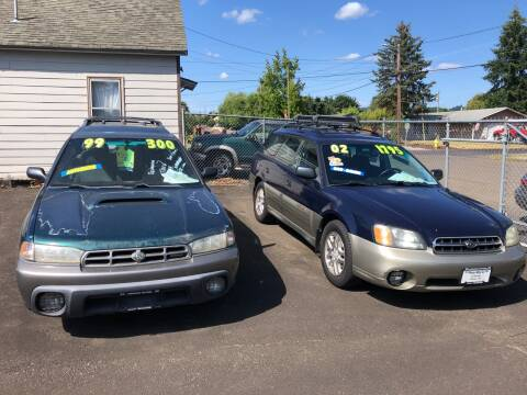 2002 Subaru Outback for sale at Freeborn Motors in Lafayette, OR