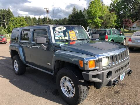 2007 HUMMER H3 for sale at Freeborn Motors in Lafayette, OR
