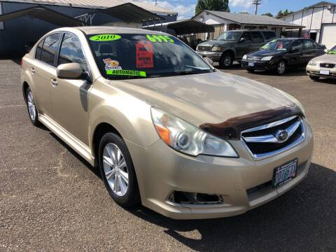 2010 Subaru Legacy for sale at Freeborn Motors in Lafayette, OR