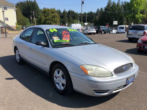 2004 Ford Taurus for sale at Freeborn Motors in Lafayette, OR