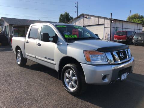 2011 Nissan Titan for sale at Freeborn Motors in Lafayette, OR