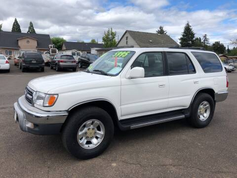 2000 Toyota 4Runner for sale at Freeborn Motors in Lafayette, OR