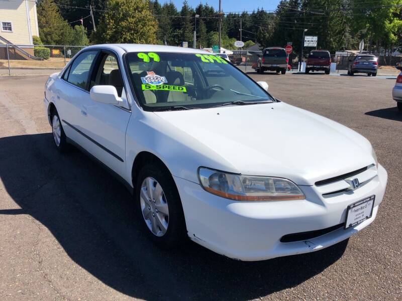 1999 Honda Accord for sale at Freeborn Motors in Lafayette, OR