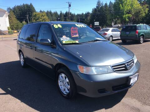 2004 Honda Odyssey for sale at Freeborn Motors in Lafayette, OR