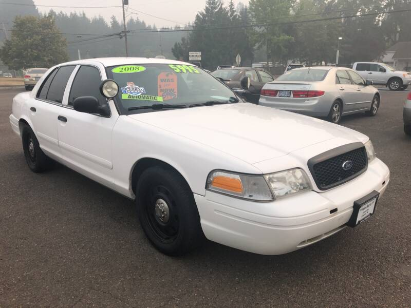 2008 Ford Crown Victoria for sale at Freeborn Motors in Lafayette, OR