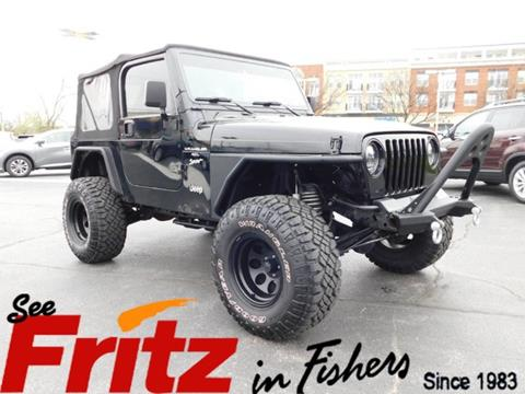 2000 Jeep Wrangler for sale in Fishers, IN
