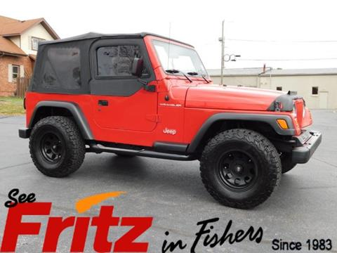 1997 Jeep Wrangler for sale in Fishers, IN