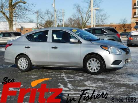 2016 Nissan Versa 1.6 S for sale at Fritz in Fishers in Fishers IN