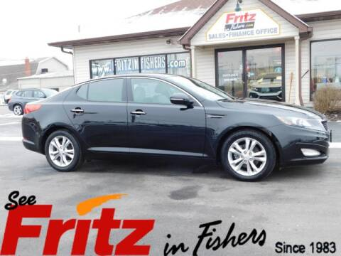 2013 Kia Optima EX for sale at Fritz in Fishers in Fishers IN