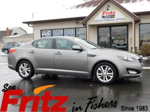 2012 Kia Optima EX for sale at Fritz in Fishers in Fishers IN