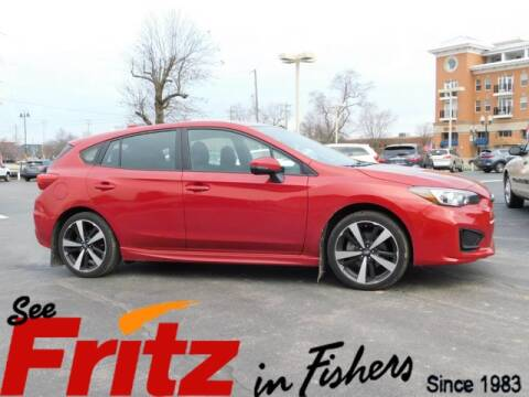 2019 Subaru Impreza Sport for sale at Fritz in Fishers in Fishers IN