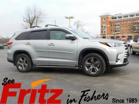 2018 Toyota Highlander Limited for sale at Fritz in Fishers in Fishers IN