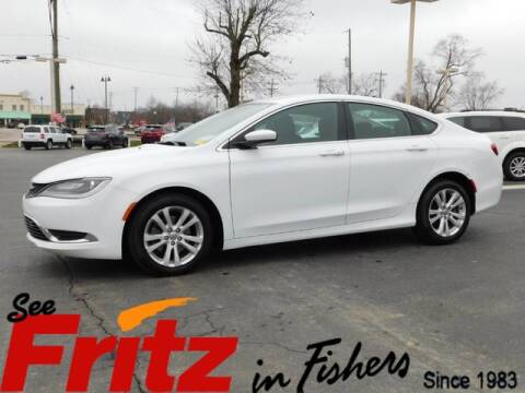 2015 Chrysler 200 Limited for sale at Fritz in Fishers in Fishers IN