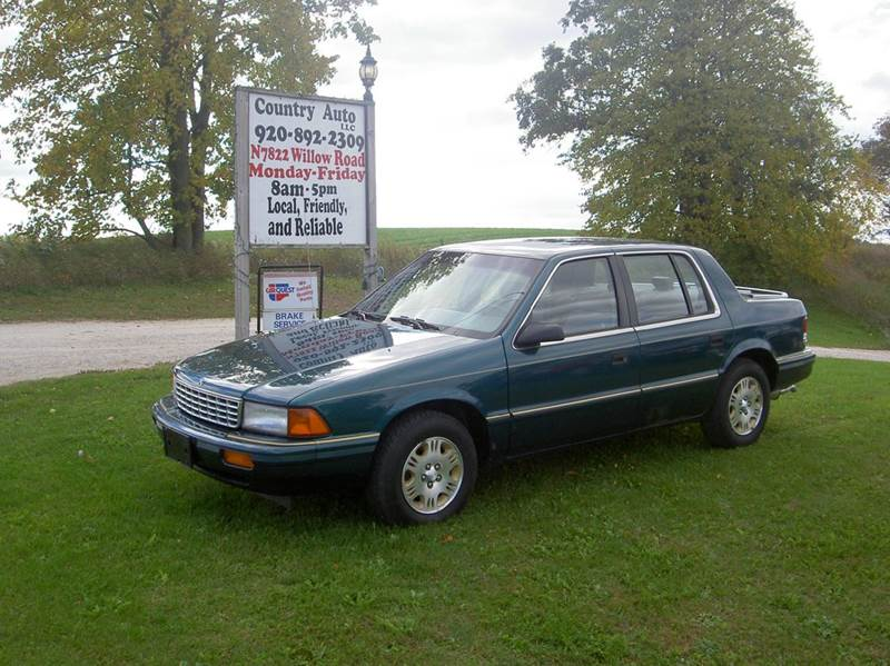 1995 Plymouth Acclaim for sale at Country Auto LLC in Plymouth WI