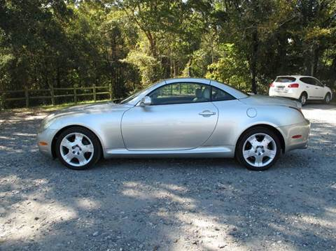 2004 Lexus SC 430 for sale at Mater's Motors in Stanley NC