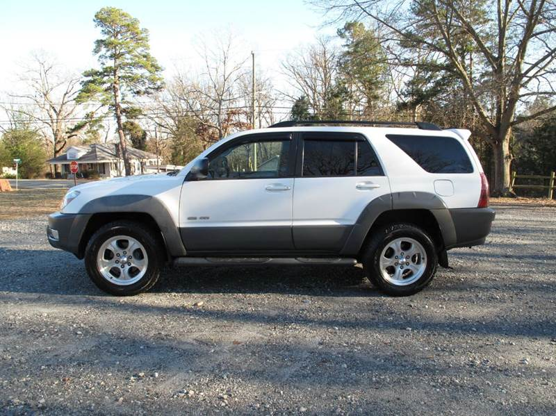 2003 Toyota 4Runner for sale at Mater's Motors in Stanley NC