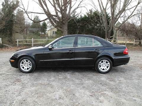 2006 Mercedes-Benz E-Class for sale at Mater's Motors in Stanley NC