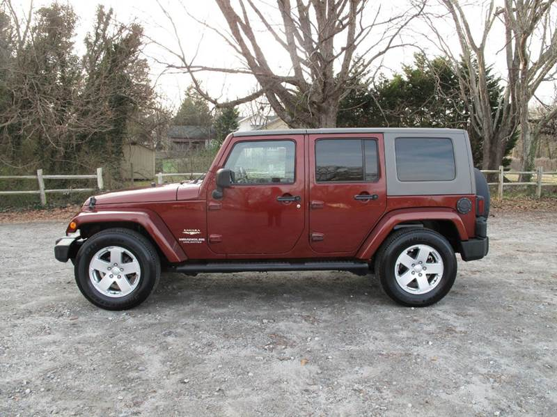 2007 Jeep Wrangler Unlimited for sale at Mater's Motors in Stanley NC