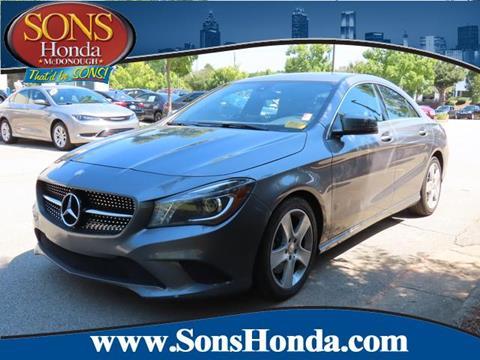 2015 Mercedes-Benz CLA for sale in Mcdonough, GA