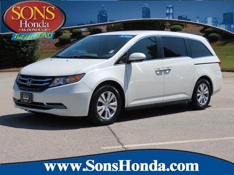 2016 Honda Odyssey for sale in Mcdonough, GA