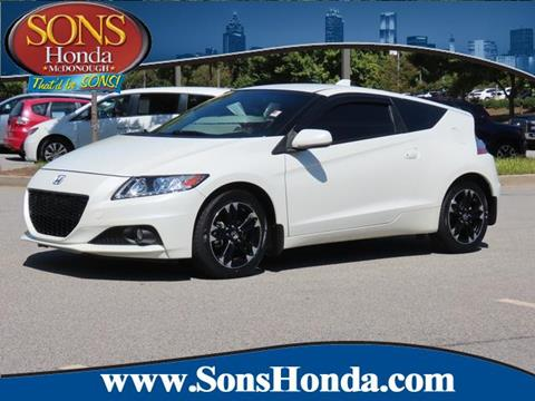 2015 Honda CR-Z for sale in Mcdonough, GA
