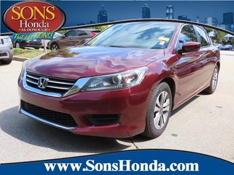2013 Honda Accord for sale in Mcdonough, GA