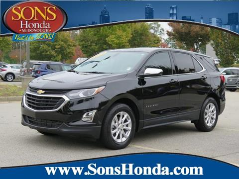 2019 Chevrolet Equinox for sale in Mcdonough, GA