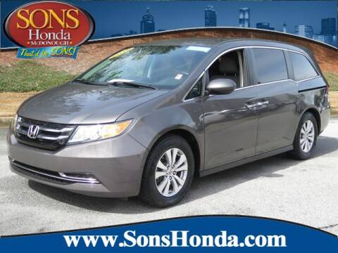 2016 Honda Odyssey EX for sale at SONS Honda in Mcdonough GA