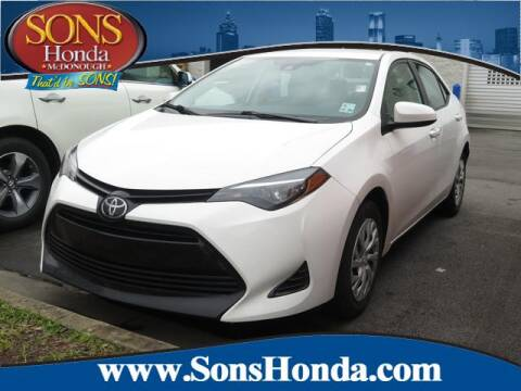 2019 Toyota Corolla for sale at SONS Honda in Mcdonough GA