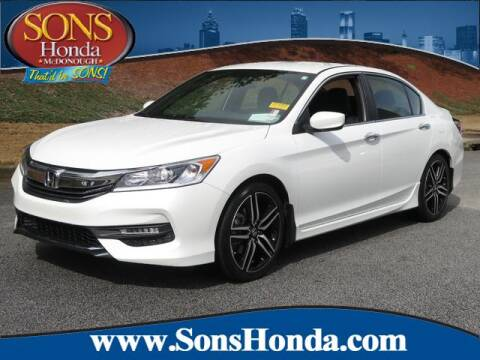 2017 Honda Accord Sport for sale at SONS Honda in Mcdonough GA