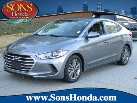 2018 Hyundai Elantra for sale at SONS Honda in Mcdonough GA