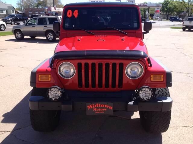 2004 Jeep Wrangler Unlimited 4WD 2dr SUV - North Platte NE