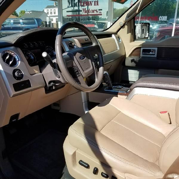 2014 Ford F-150 4x4 Lariat 4dr SuperCrew Styleside 5.5 ft. SB - North Platte NE