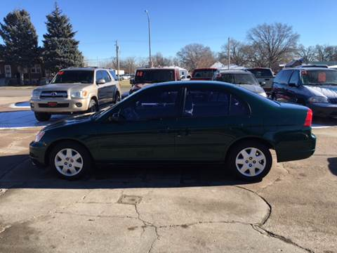 2002 Honda Civic for sale at Midtown Motors in North Platte NE