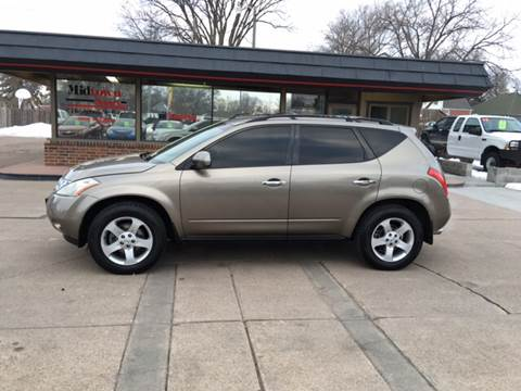 2003 Nissan Murano for sale at Midtown Motors in North Platte NE