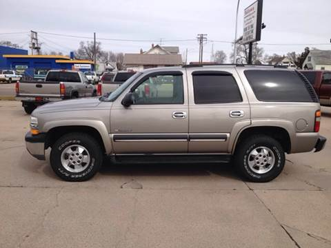 2003 Chevrolet Tahoe for sale at Midtown Motors in North Platte NE