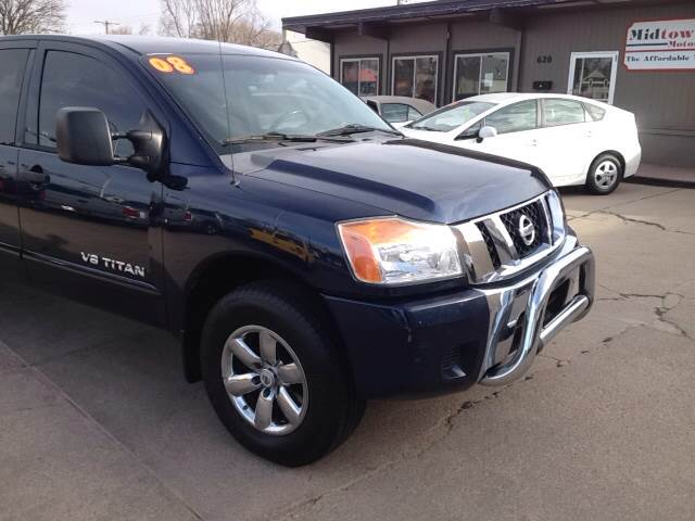 2008 Nissan Titan 4x4 SE FFV 4dr King Cab Long Bed - North Platte NE