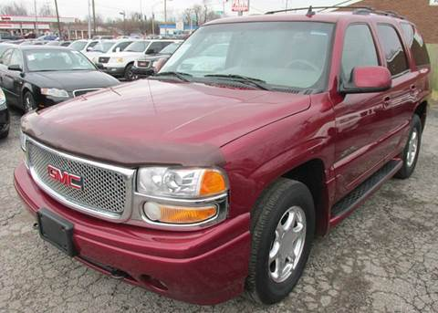2006 GMC Yukon for sale at Express Auto Sales in Lexington KY