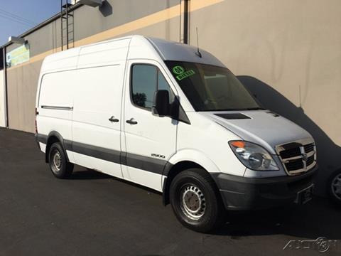 2008 Dodge Sprinter Cargo for sale in Fountain Valley, CA