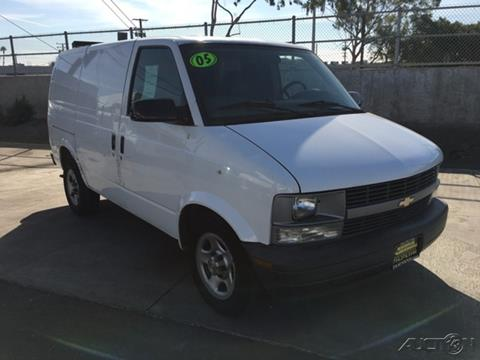 2005 Chevrolet Astro Cargo for sale in Fountain Valley, CA