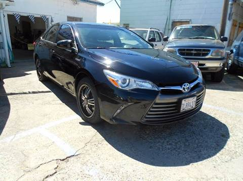 2015 Toyota Camry Hybrid for sale at Mountain Auto in Jackson CA