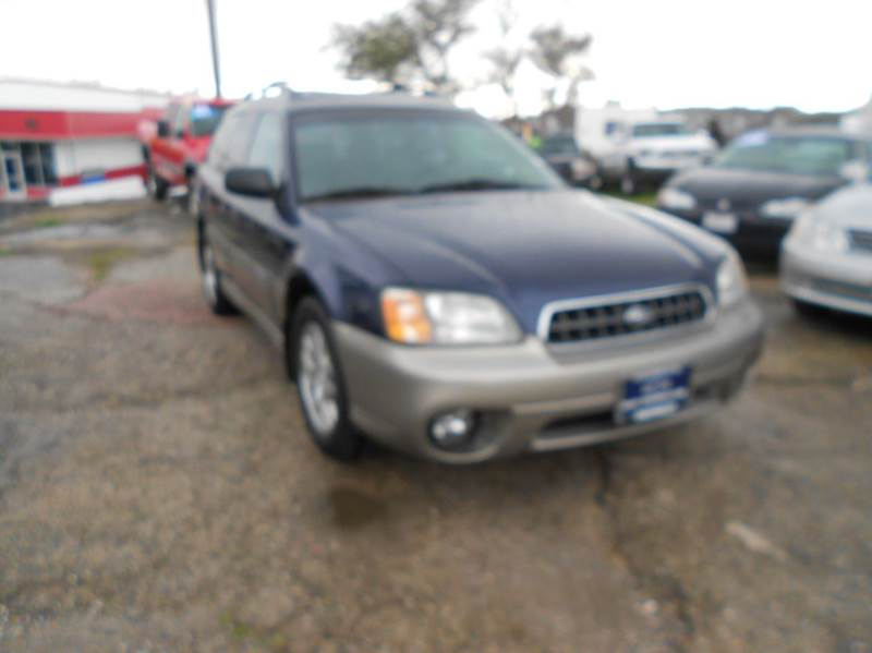 2004 Subaru Outback for sale at Mountain Auto in Jackson CA