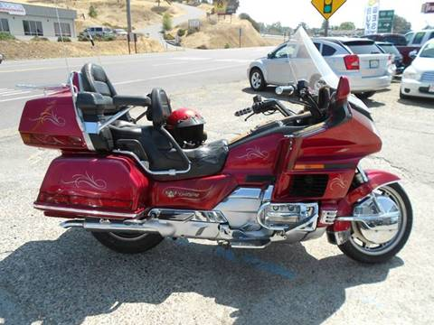 1993 Honda Goldwing For Sale In Jackson, CA