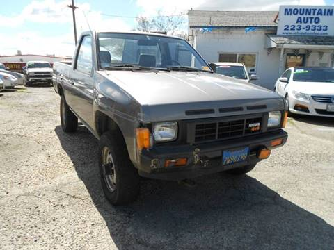 1986 Nissan Truck for sale in Jackson, CA