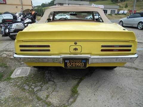1968 Pontiac Firebird for sale in Jackson, CA