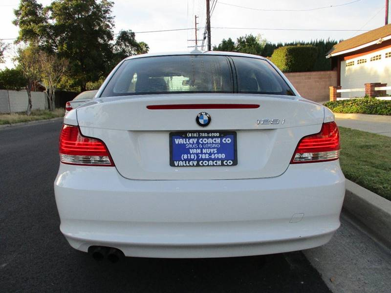 2011 Bmw 1 Series 128i 2dr Coupe SULEV In Van Nuys CA