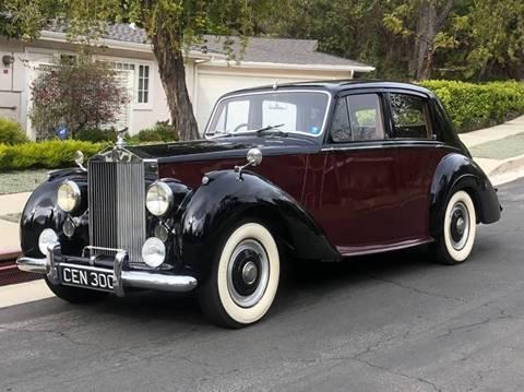 1954 Rolls-Royce Silver Dawn for sale in Van Nuys, CA