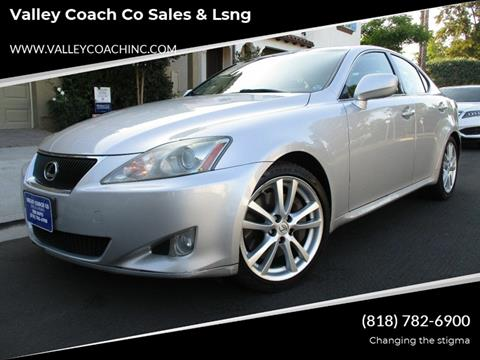 2006 Lexus IS 350 for sale at Valley Coach Co Sales & Lsng in Van Nuys CA